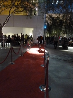 Bike red carpet
