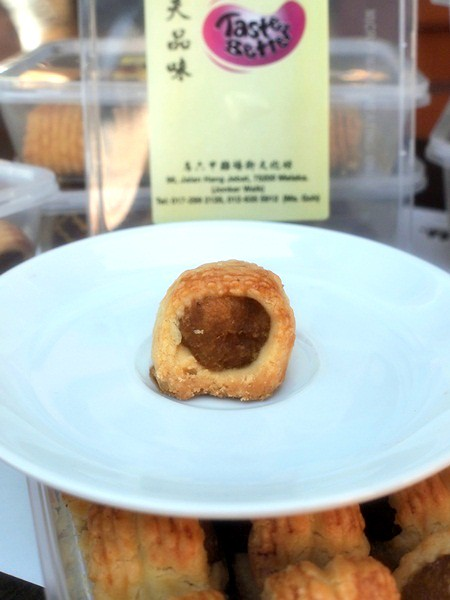 taste better pineapple tart - jonker street - geographer cafe