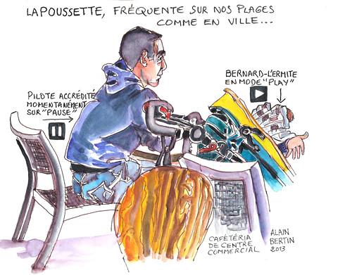 Regard sur... la poussette 01 by alain bertin