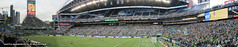 Sounders FC vs FC Dallas panorama