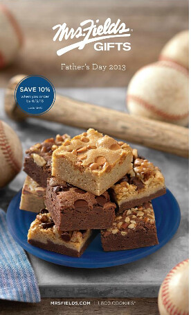 Mrs. Fields Father's Day Catalog