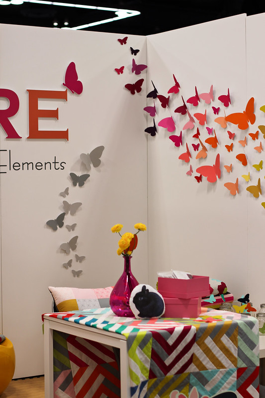 Quilt Market - Pure Elements Booth