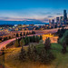 Seattle at dusk by Juan C Ruiz