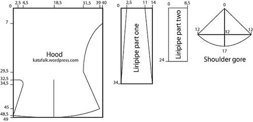 liripipe pattern