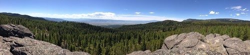 The view from the top of Cougar Rock