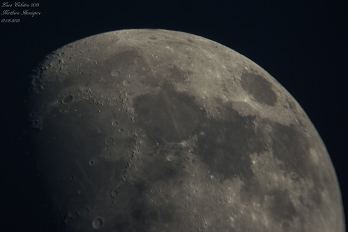 Northern Hemisphere Moon 18.06.2013