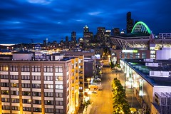 Seattle@Night Safeco