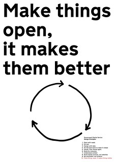 Make things open, it makes them better
