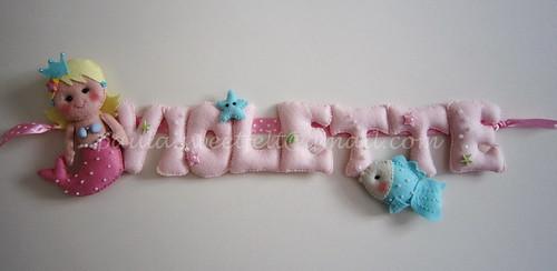 ♥♥♥ Violette... by sweetfelt \ ideias em feltro