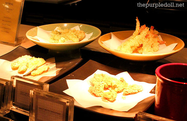 Assorted Japanese Tempura at Spiral Sofitel