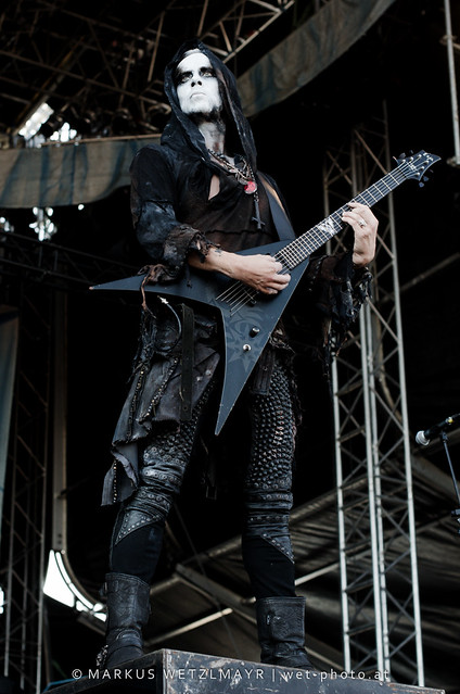 "Polish Blackened Death Metal band BEHEMOTH performing live at See Rock 2013 Festival near Schwarzl See, Graz, Styria, Austria on June 21, 2013.  © Markus Wetzlmayr | <a href=""http://www.wet-photo.at"" rel=""noreferrer nofollow"">www.wet-photo.at</a> NO USE WITHOUT PERMISSION."