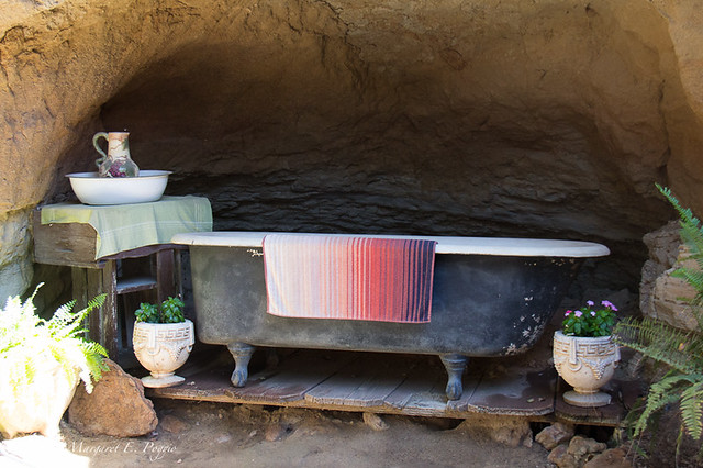 The Bathtub at Forestiere Underground Gardens