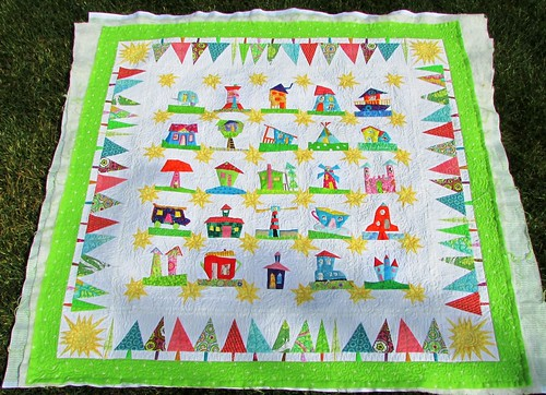 Wonky House Quilt! by ruthiequilts