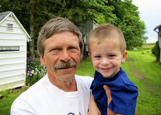 Grandpa & Sweet Pea