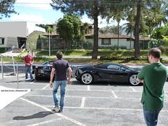 Ferrari 458 Spider Novitec Rosso & Lamborghini Gallardo Spyder