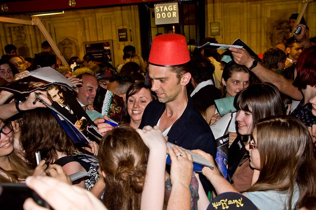 Doctor Who Proms 2013 - Ben Foster wears a Fez
