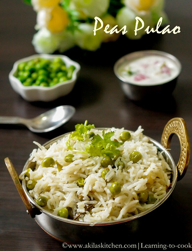 Peas-pulao