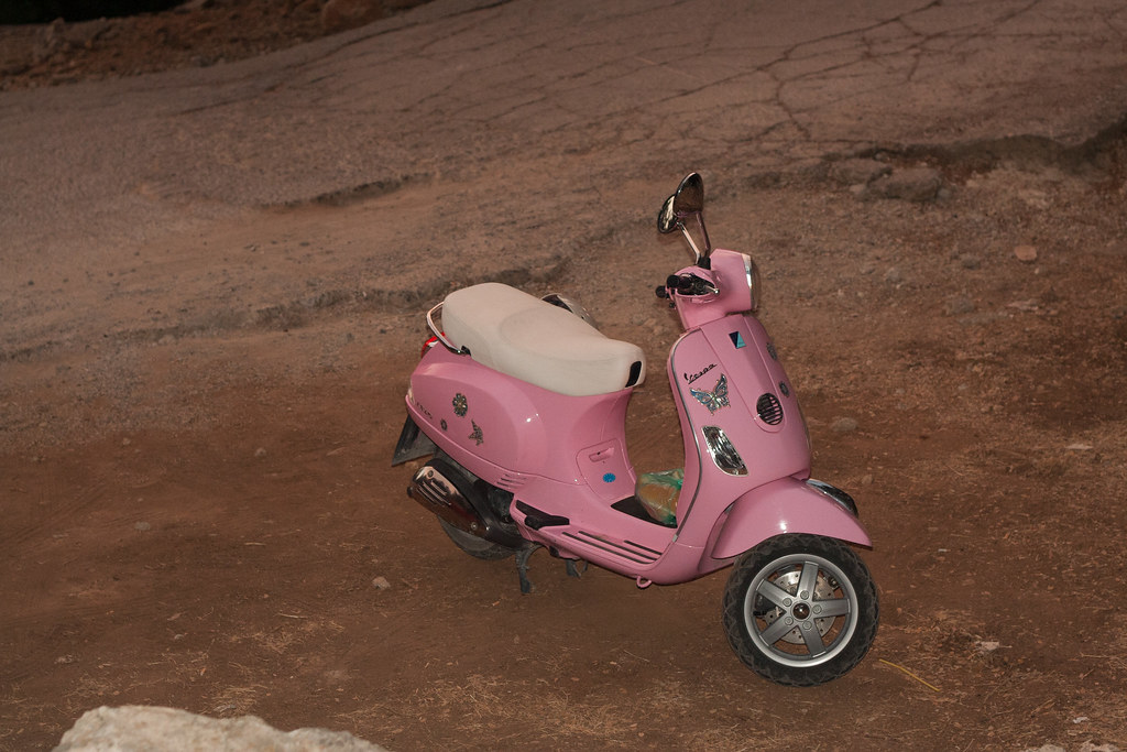 Розовая Веспа