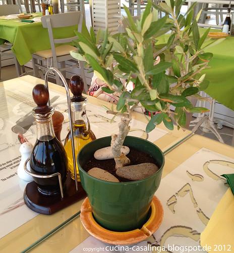 Restaurant Faros - Tisch