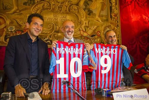 Calcio, Catania: tradizionale presentazione della squadra all'Università$