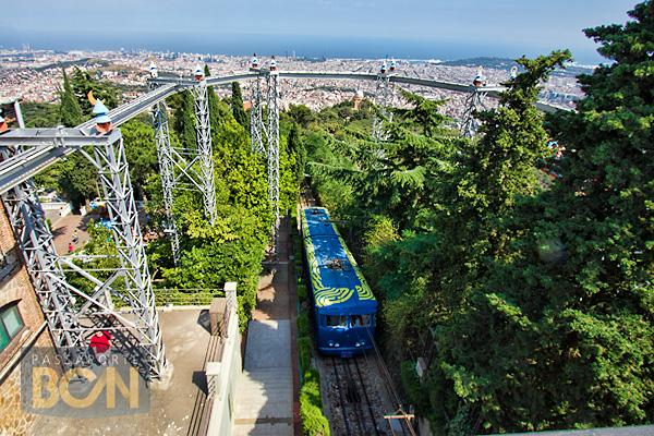 funicular del Tibidabo, Barcelona