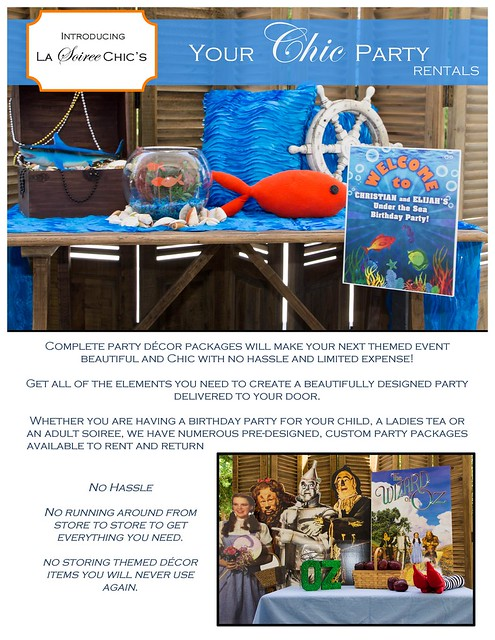 All New- Your Chic Party Rentals!!