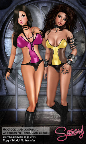 Radioactive bodysuit