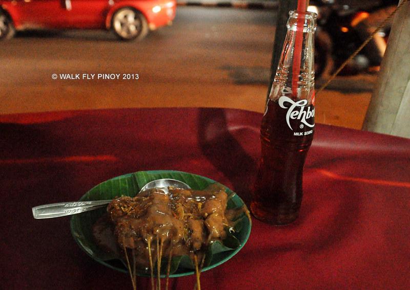 Sate Padang and Teh Botol