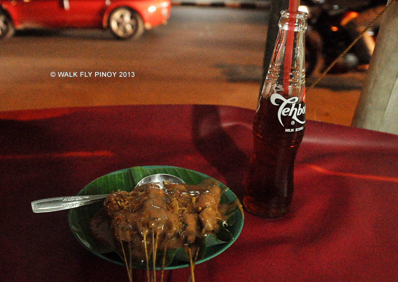 Sate Padang and Teh Botol, Jakarta, Indonesia