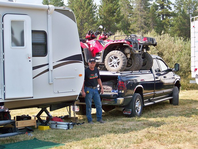 Innovative Kimberley Off Road Camper Trailer With Quad Bike Carrier
