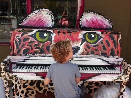 leopard piano