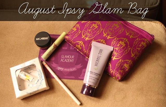 August Ipsy Glam Bag