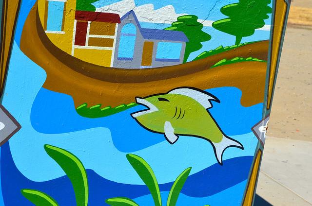 August 31: Fish Art