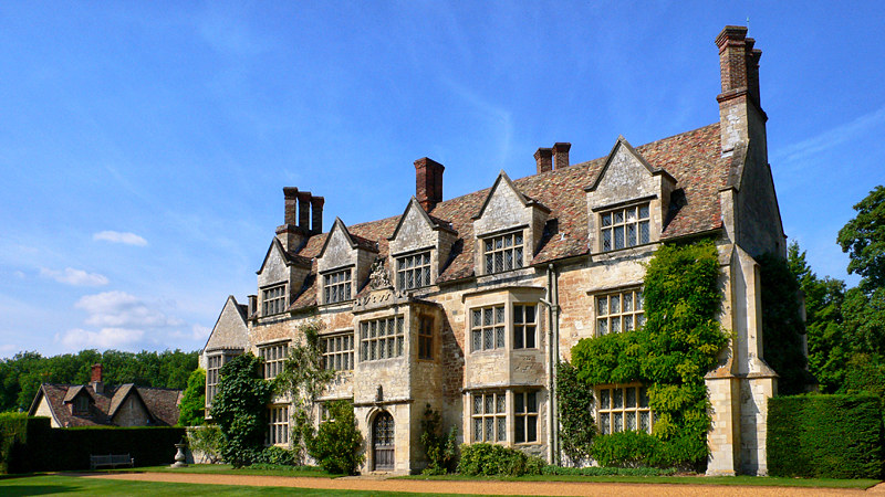 The House at Anglesey Abbey