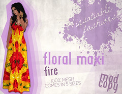 [IF] Floral Maxi - [Fire] Ad