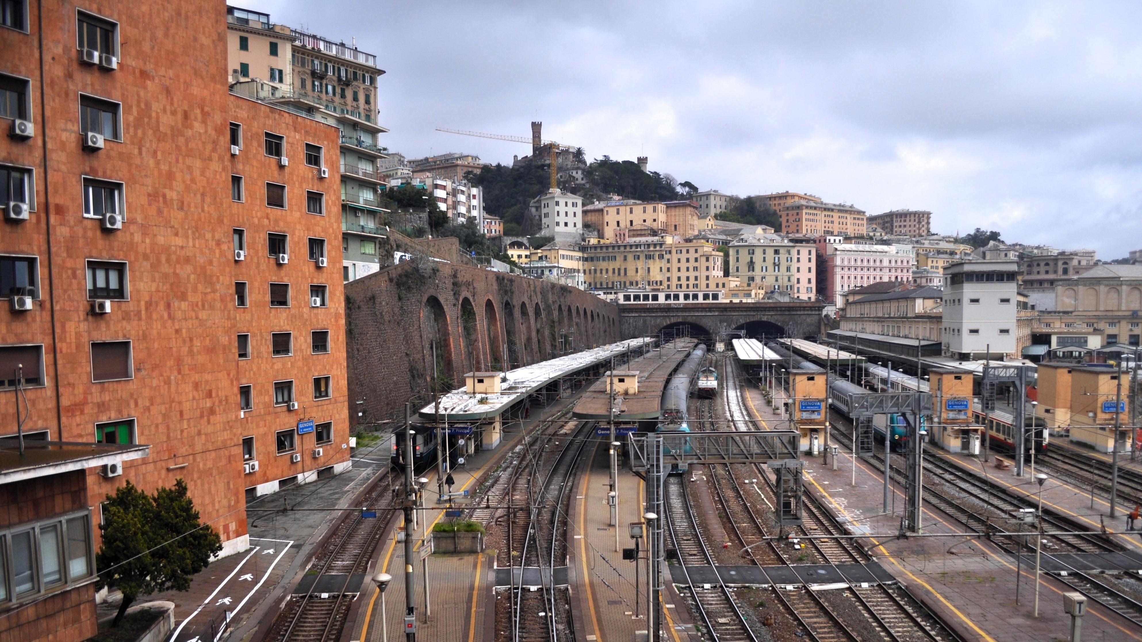 Genova piazza principe railway station genoa flickr - Genova porta principe ...