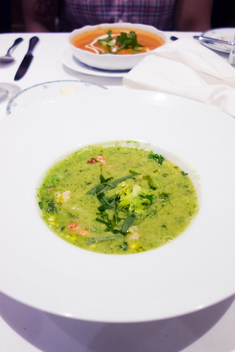 Oceanique Second Course: Corn Soup