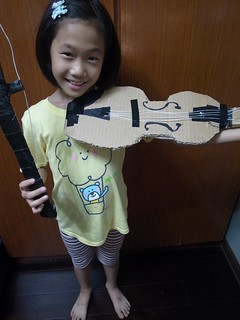 20130420-zozo做了一把小提琴-1