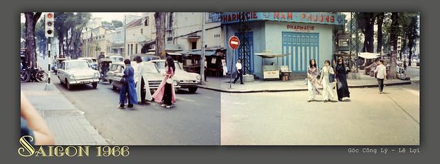 SAIGON 1966 - Góc Công Lý-Lê Lợi