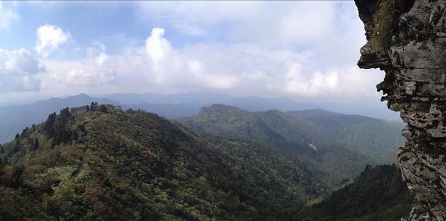 氷ノ山 氷ノ山越登山道 こしき岩から展望