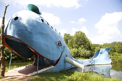 Day 4 - The Blue Whale, Route 66, Catoosa, OK