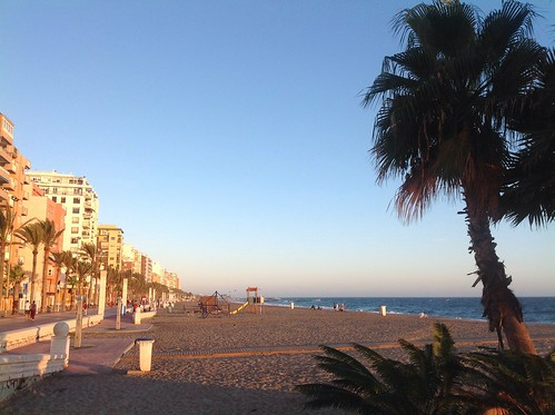 Almeria beach by Ginas Pics