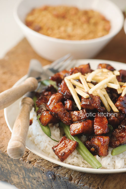 Indonesian pork in sweet soy sauce kayotic kitchen or babi chin as its called in english all these different names can get confusing im no spring chicken anymore and its hard to keep up in my old age forumfinder Images