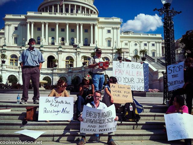 US-Government-Shutdown-Protest