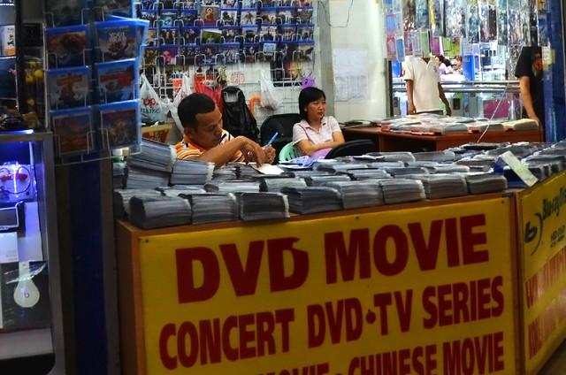 Películas piratas de Bangkok en Tailandia
