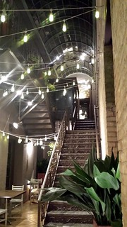 Stairs to Vertical Wine Bistro