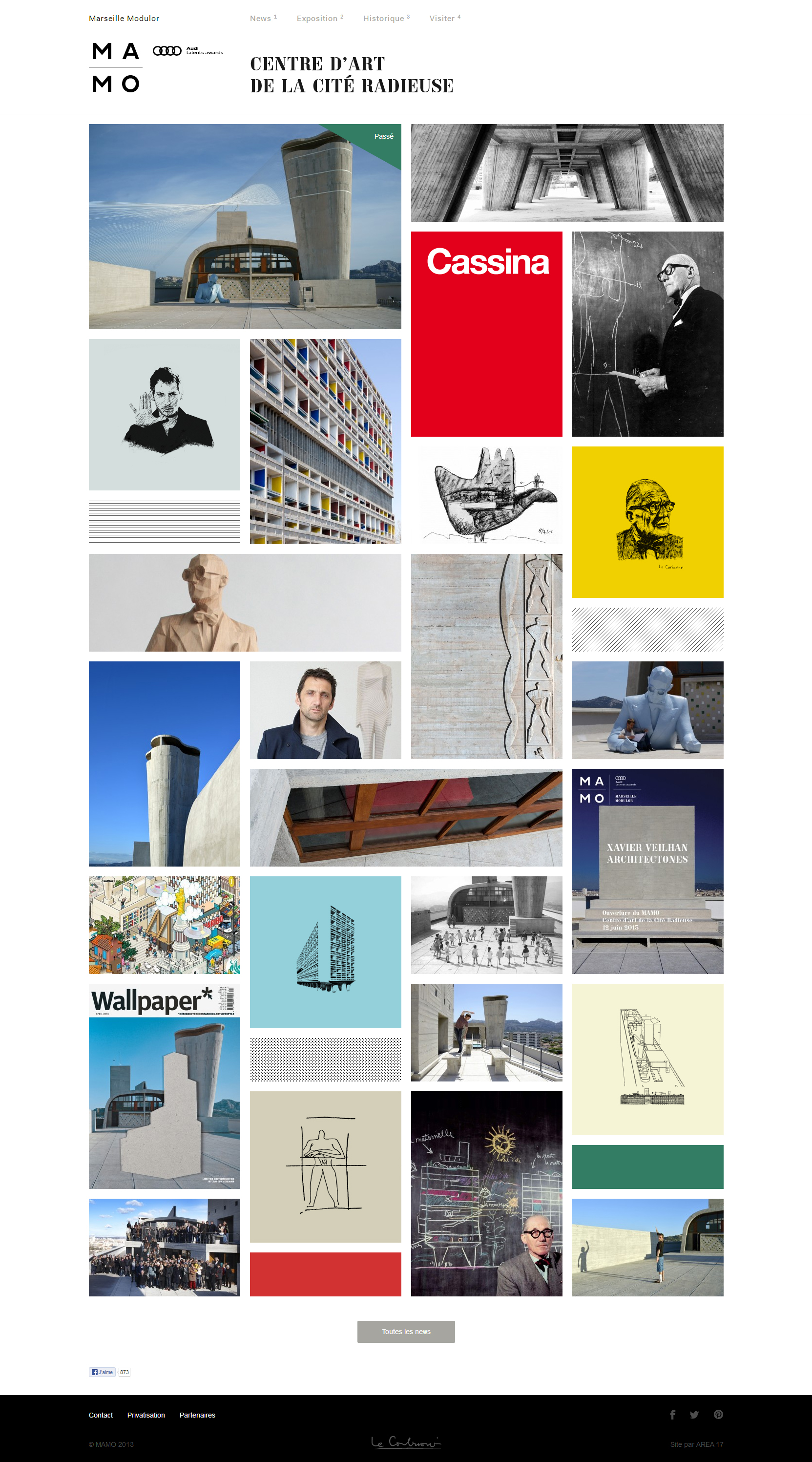 Mamo - Clean Architecture Website For Your Inspiration