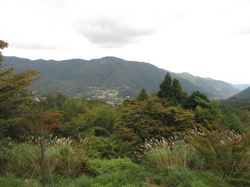 早雲山駅からの眺め