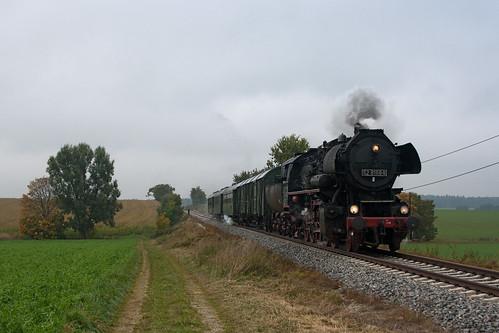 Auf der zweiten Fahrt erreicht 52-8168 Niederroth