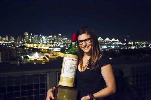 Brittini Rae, 2013 Luxardo Cocktail Cup Champion